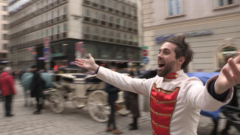 Guillaume Ducreux part sur les traces de Sissi l'Impératrice