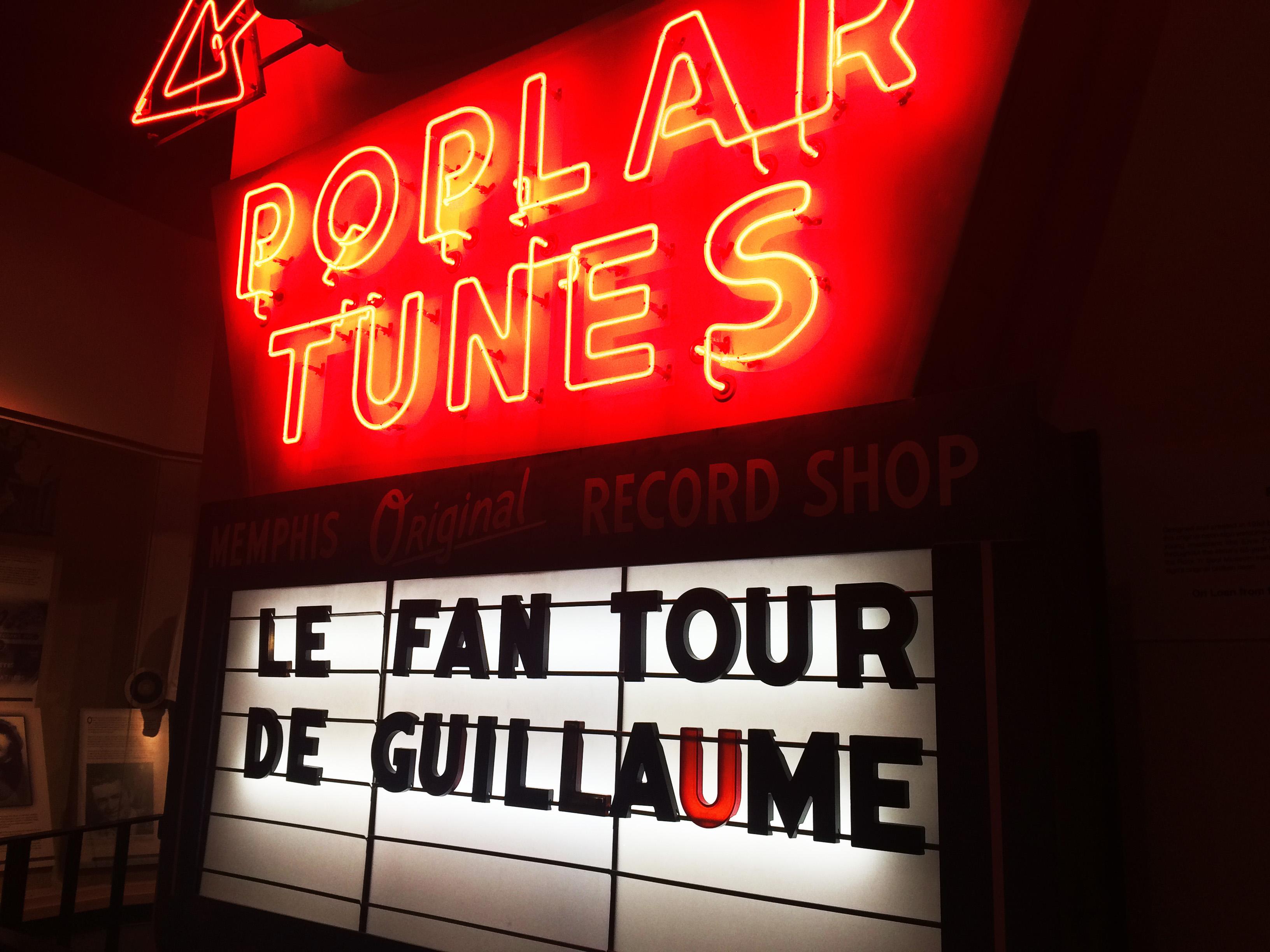 Le Fan tour de Guillaume: Dans la peau d'Elvis