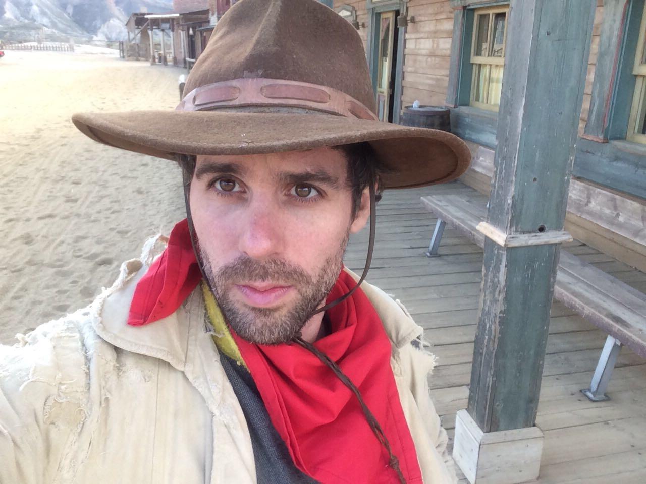 «Le Fan tour de Guillaume» dans le Far West… Espagnol
